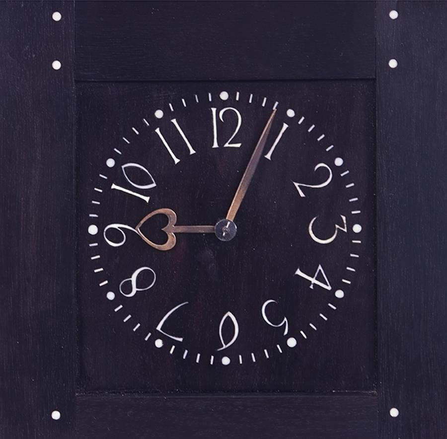 Rare original CFA Voysey commissioned clock - his last one
