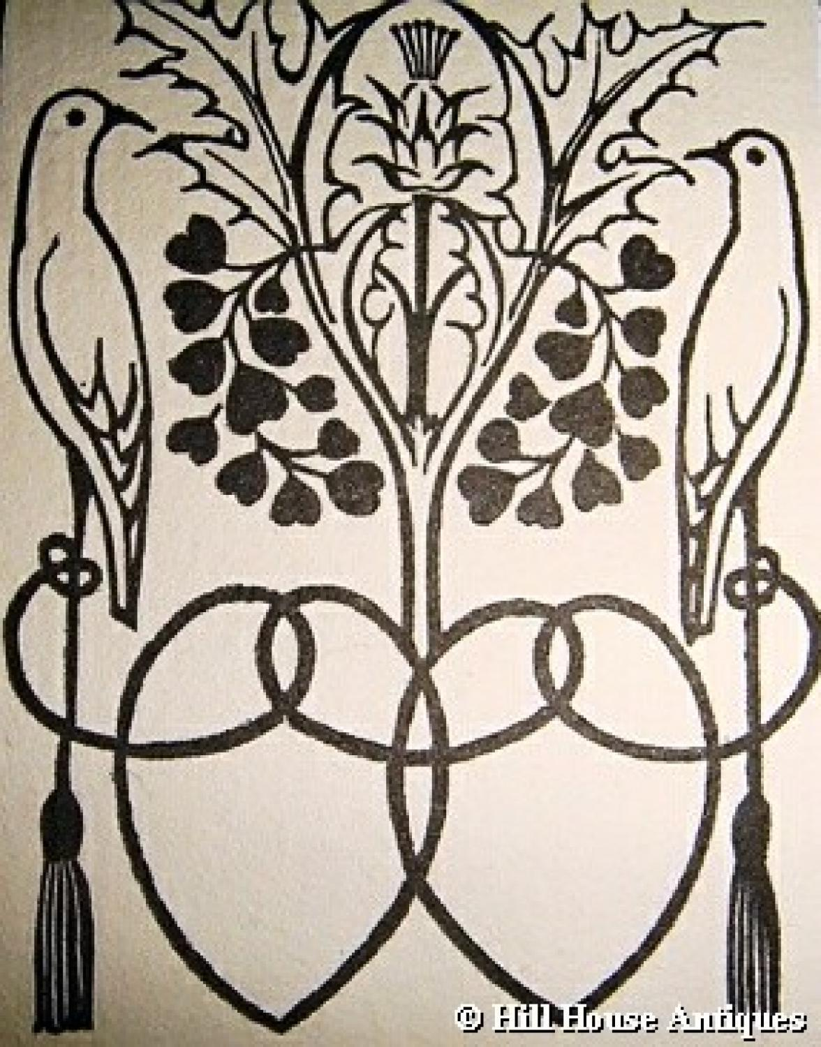 CFA Voysey bookplate