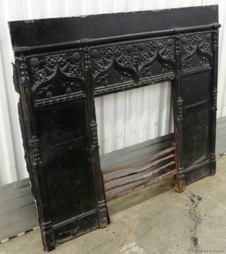 Thomas Elsley fireplace surround Voysey