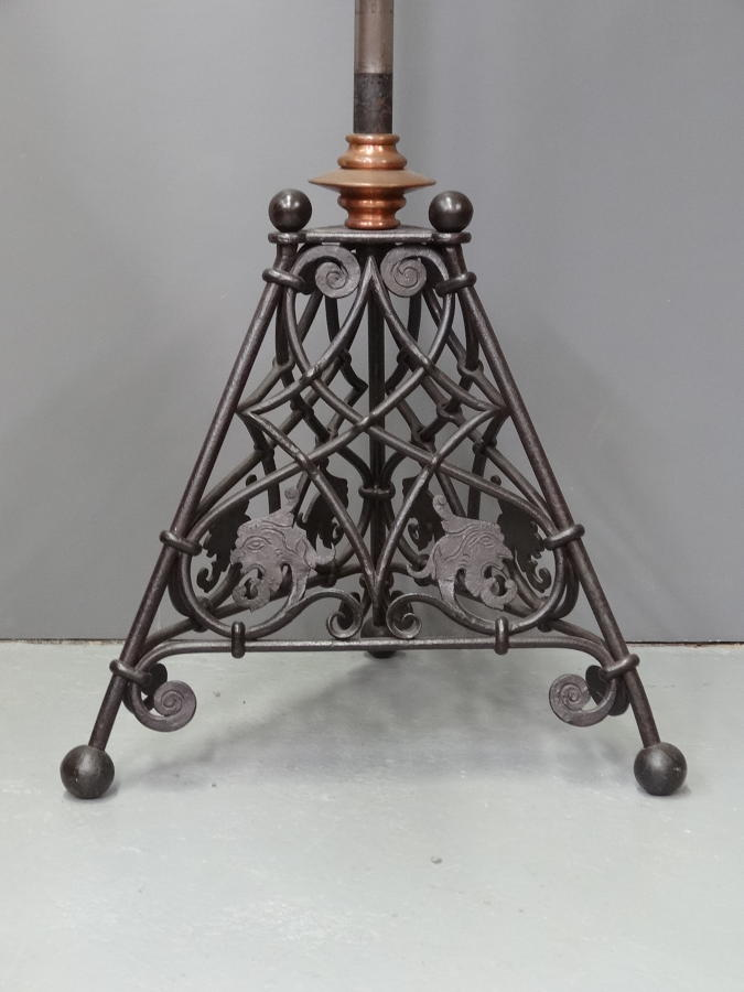 Voysey standard lamp