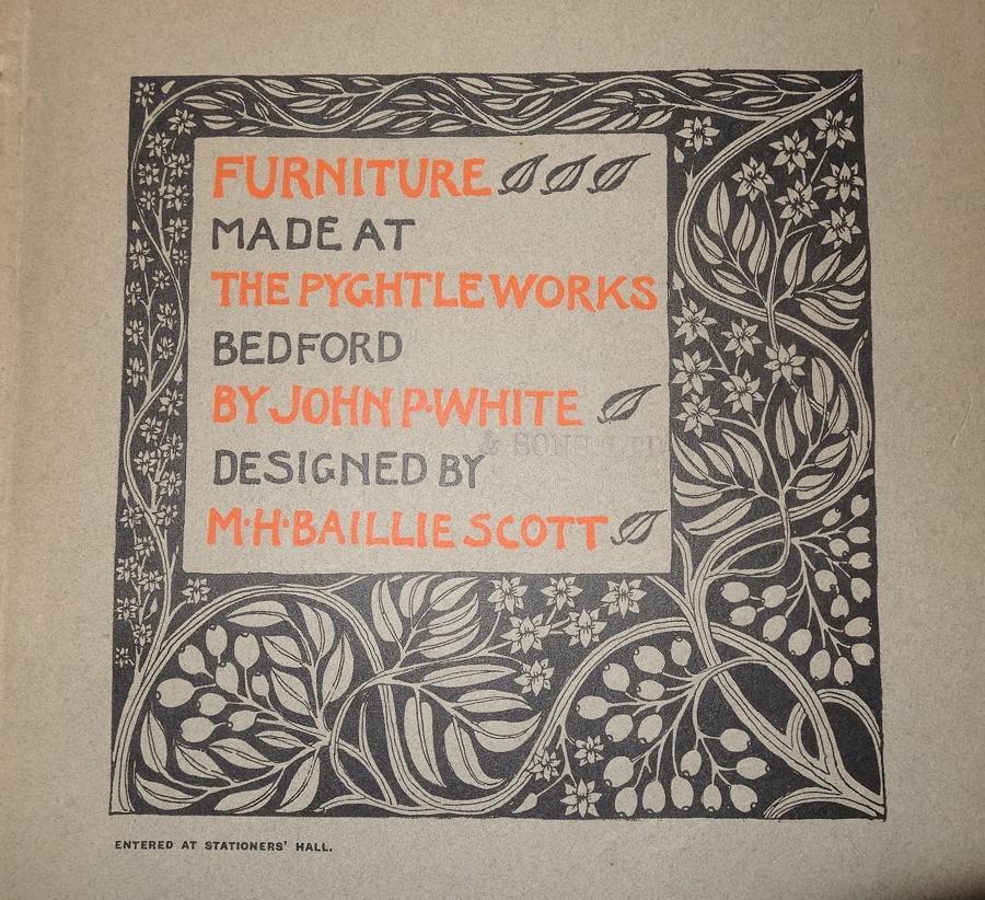 Mackay Hugh Baillie Scott Pyghtle catalogue