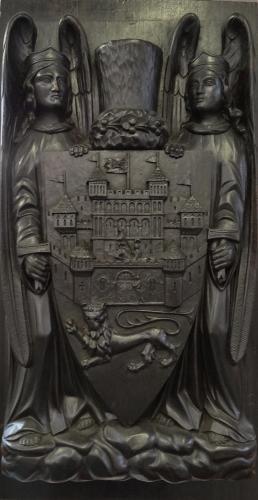 Thomas Jeckyll carving Sandringham Castle