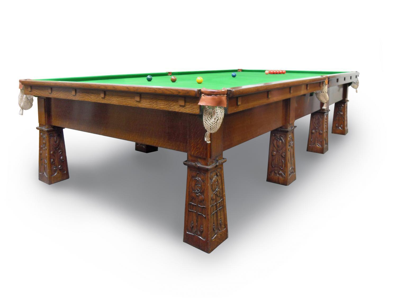 Glasgow Style Wylie & Lochhead snooker billiard table