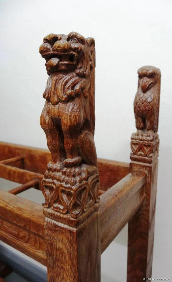 Sir Robert Lorimer Arts & Crafts stick stand