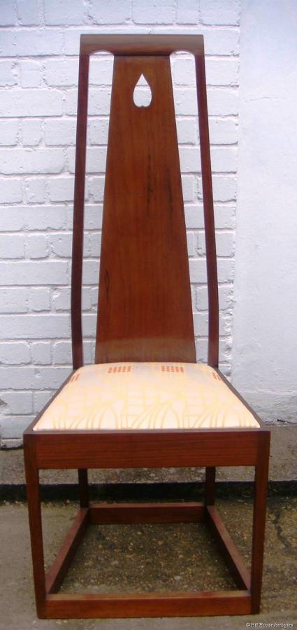Glasgow/Baillie Scott style Arts & Crafts chair