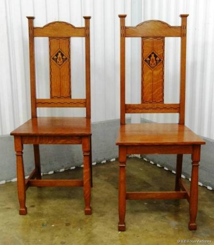 Shapland & Petter pair Baillie Scott chairs