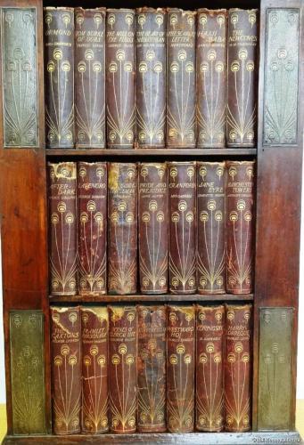 Rare Talwin Morris small bookcase