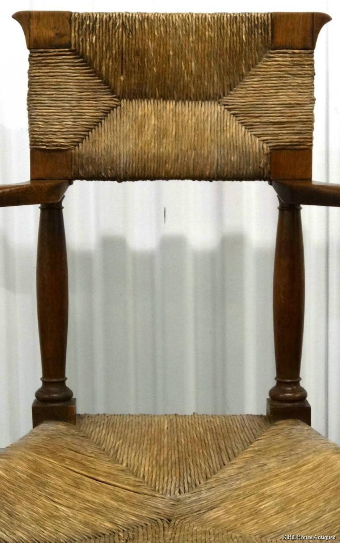 George Walton Glasgow Style caquetoire armchair