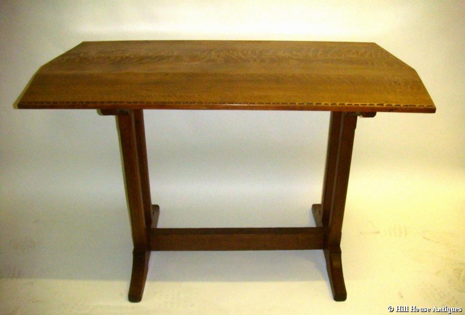 Cotswold School oak table