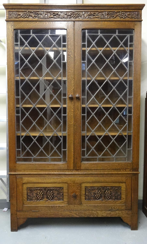 Frank Rosier Cotswold School bookcase cabinet