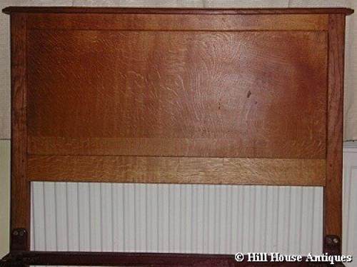 Early Gordon Russell oak bed