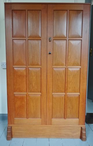 Hugh Birkett Cotswold School cupboard
