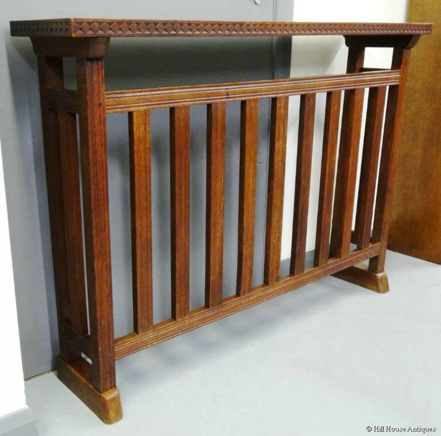 Cotswold School console hall table rad cover