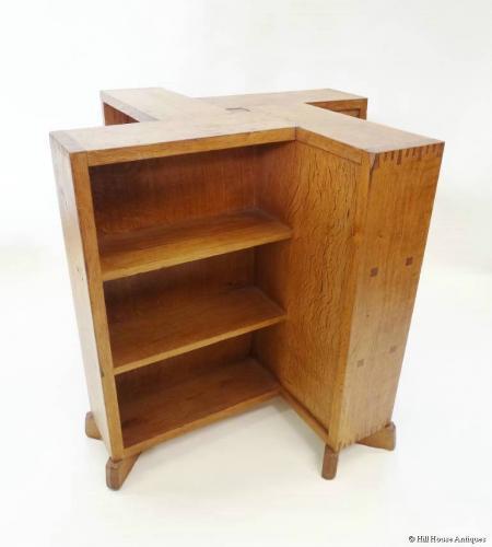 Gordon Russell cruciform booktable bookcase