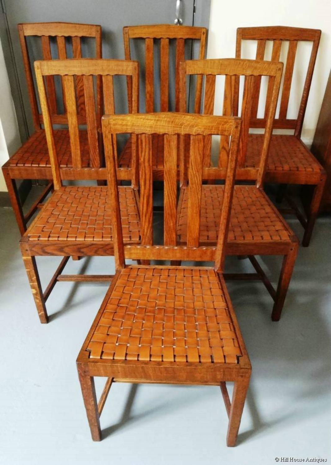 Stanley Webb Davies 6 dining chairs
