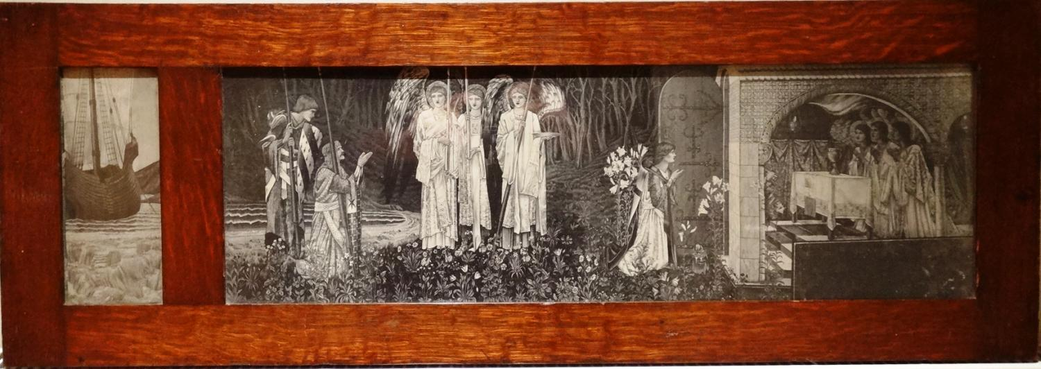 Morris & Co Burne-Jones lithograph