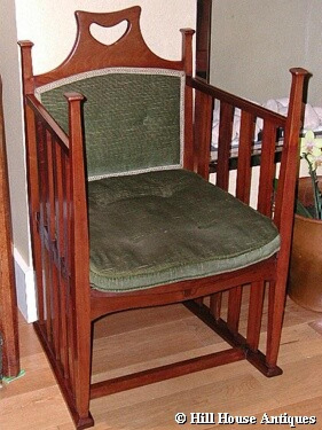 Rare Liberty & Co Punnett Armchair