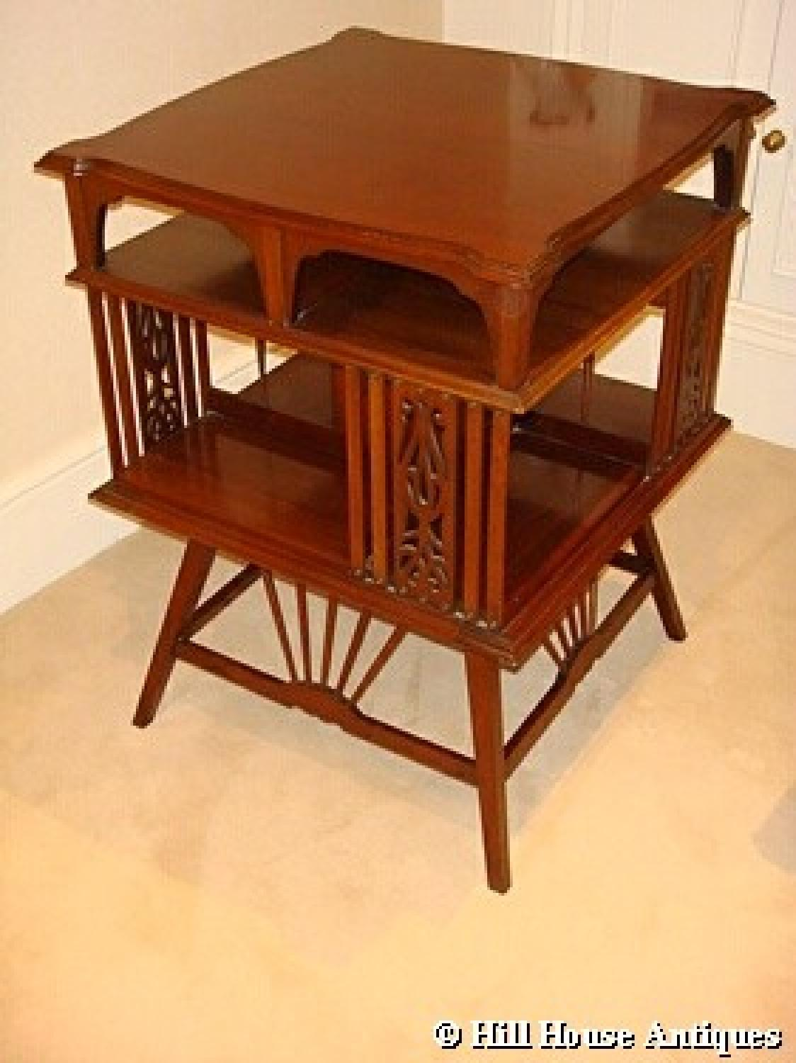 Shapland & Petter revolving table bookcase