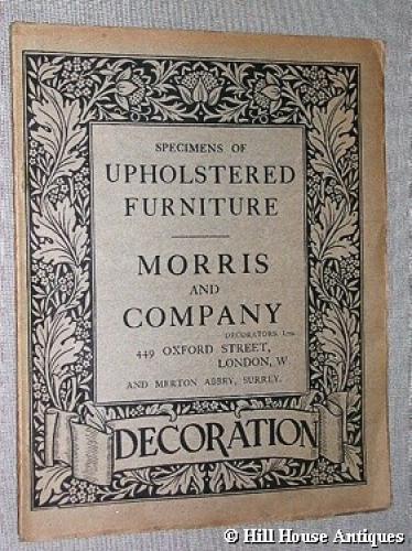Rare Morris & Company catalogue 2