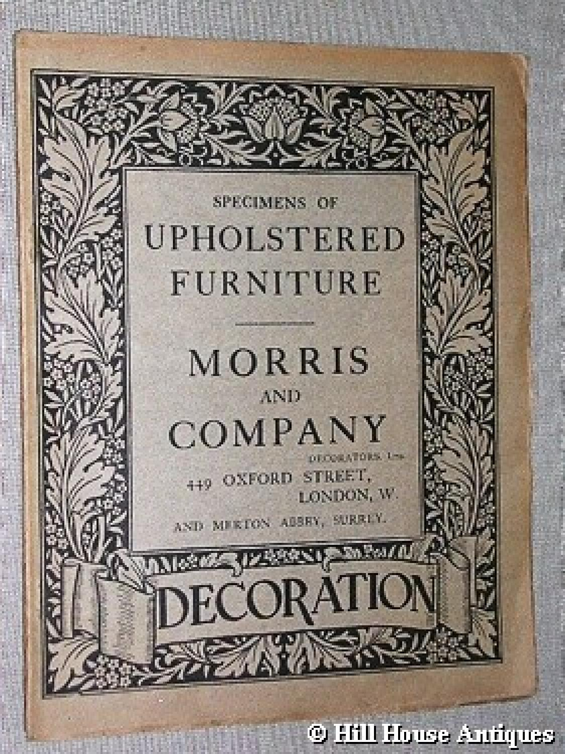 Rare Morris & Company catalogue 2