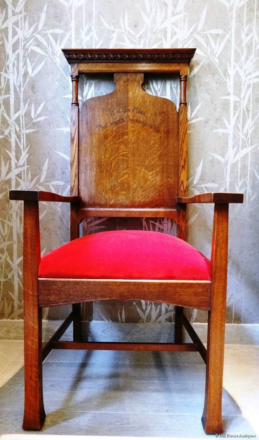 Arthur Simpson of Kendal motto armchair