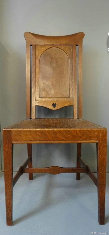 Rare and important Arthur Simpson of Kendal Arts & Crafts chair
