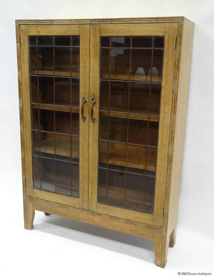 Arthur Simpson of Kendal glazed bookcase