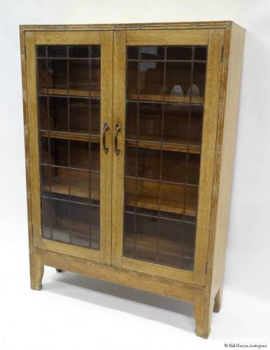 Arthur Simpson of Kendal glazed bookcase