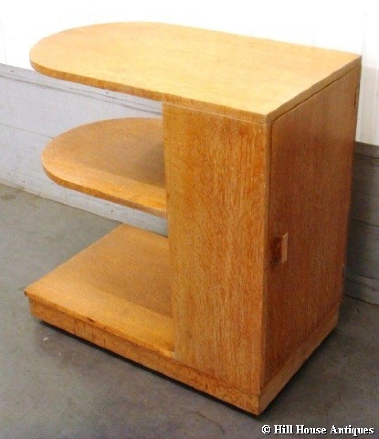 Heals oval bookcase table