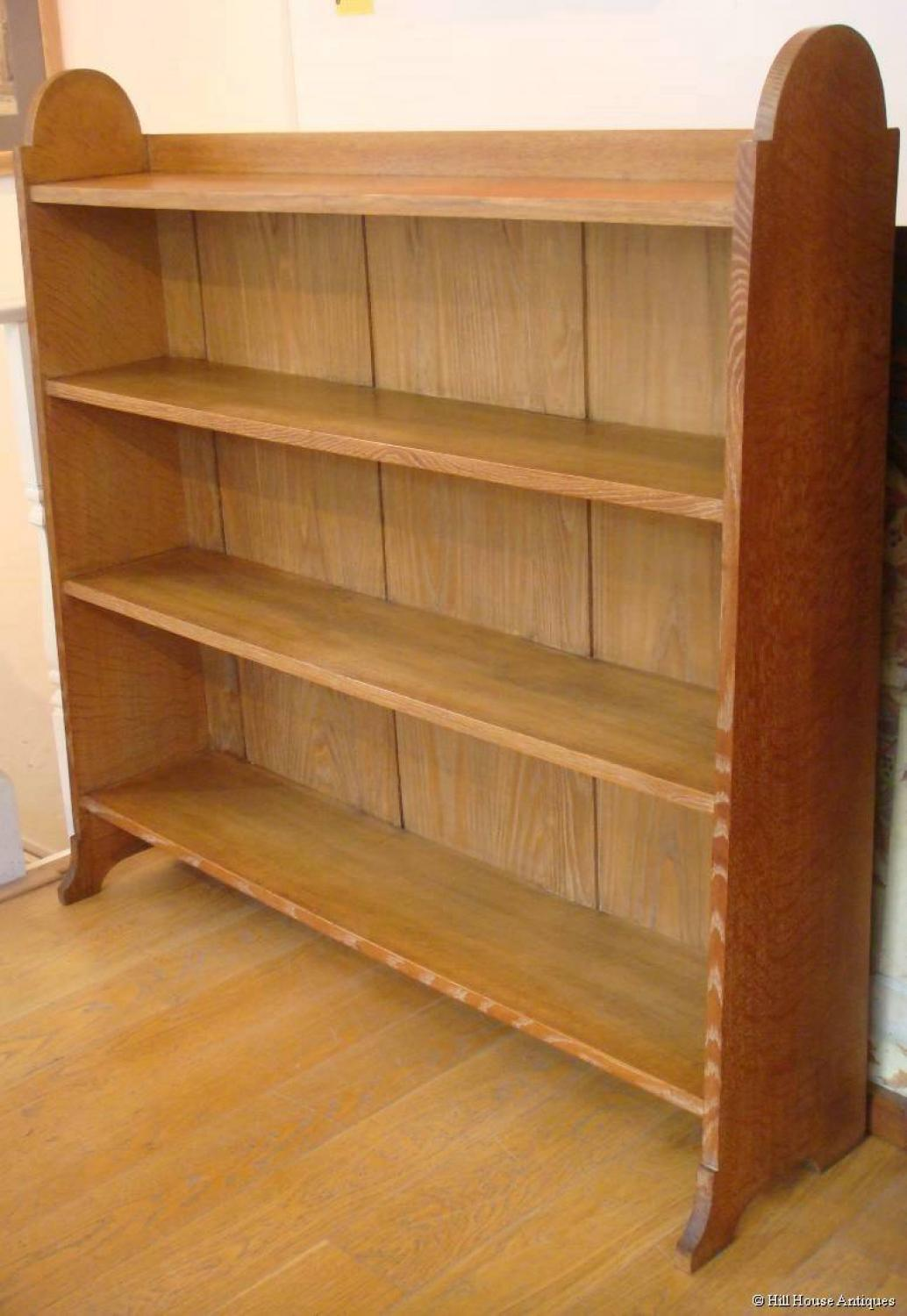 Ambrose Heal oak bookcase