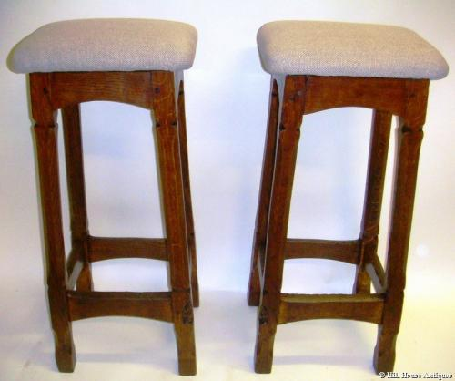 Gnomeman pair of bar stools