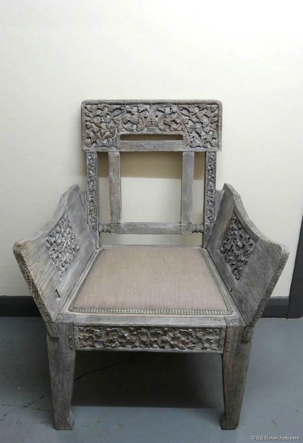 Anglo/Ceylonese Tea Kiosk 1902 chair