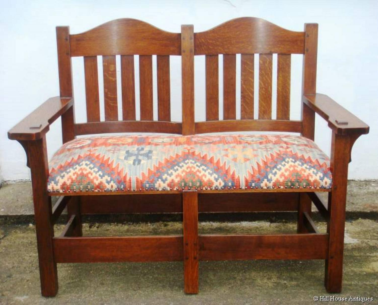 Rare L & JG Stickley love seat