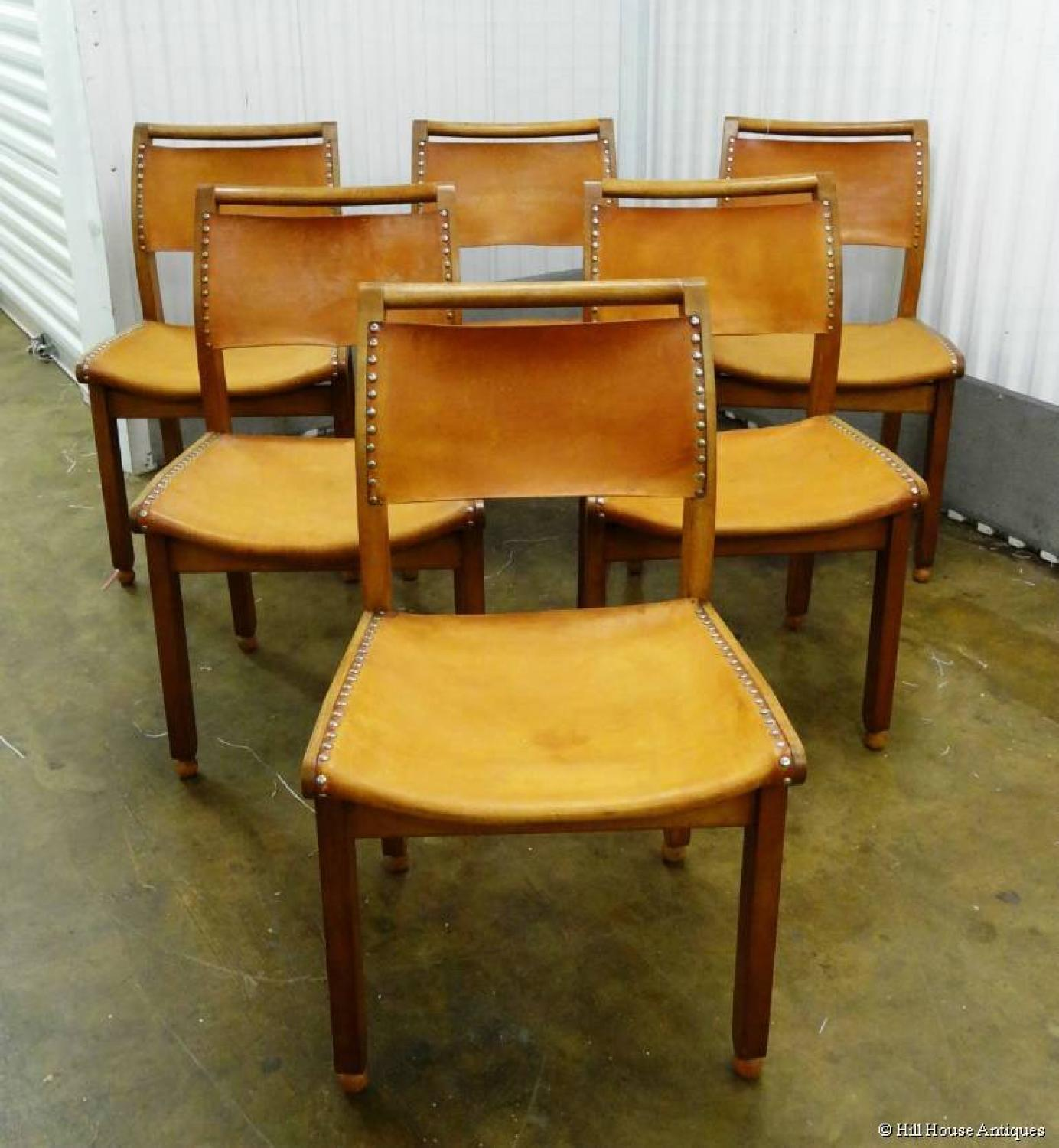 John Makepeace 6 dining chairs