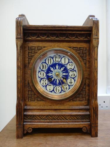 Aesthetic Movement mantle clock