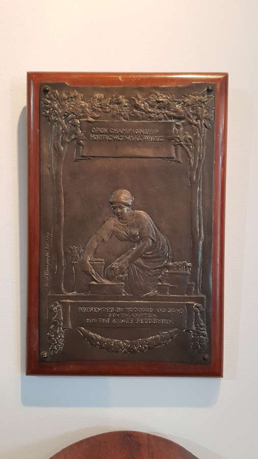Sir William Hamo Thornycroft plaque