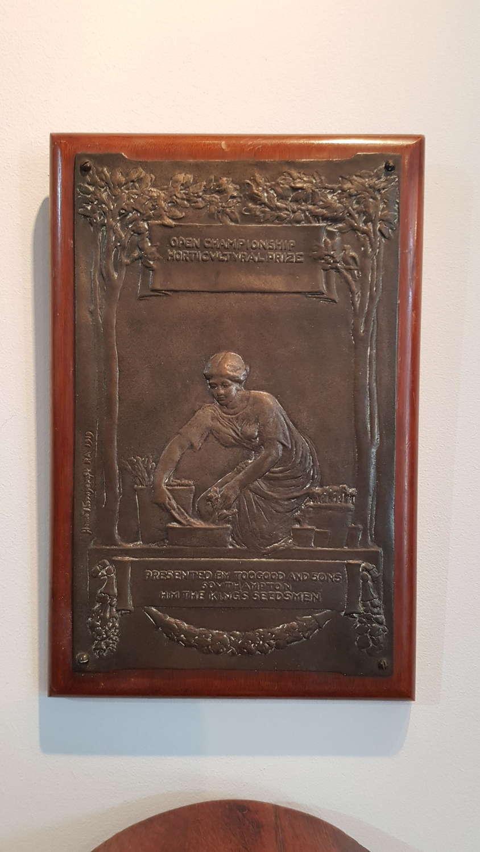 Sir William Hamo Thornycroft plaque