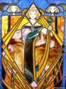 Glasgow Style Mackintosh stained glass window - picture 1