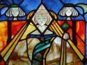 Glasgow Style Mackintosh stained glass window - picture 5
