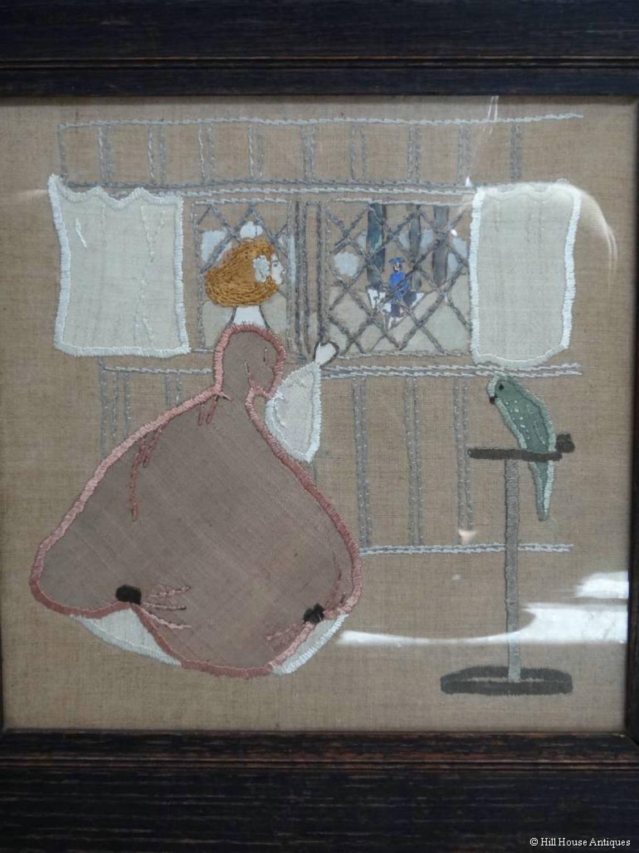 Glasgow Style needlework 1