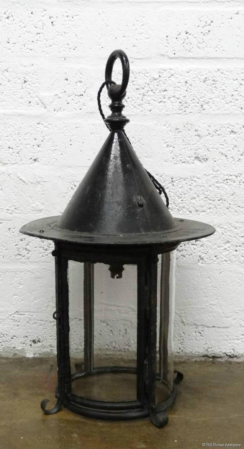 Arts & Crafts witches hat large lantern