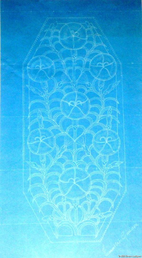 Ernest Gimson original blueprint
