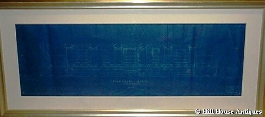 Warren & Wetmore Grand Central Station New York blueprint
