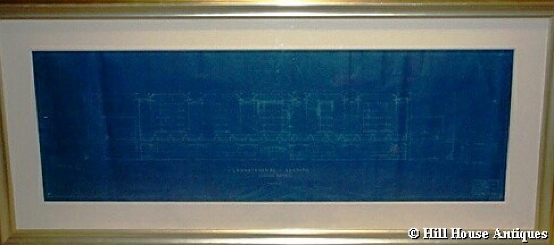 Warren & Wetmore Grand Central Station New York blueprint