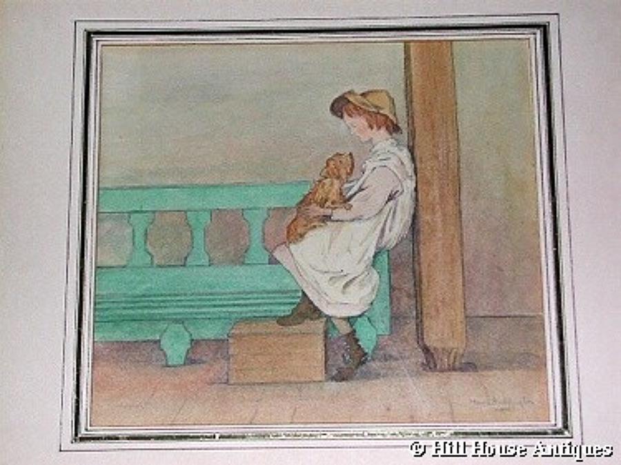 Maud Beddington watercolour