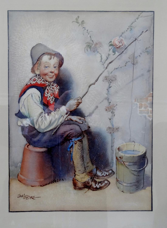 Jack Orr nursery watercolour