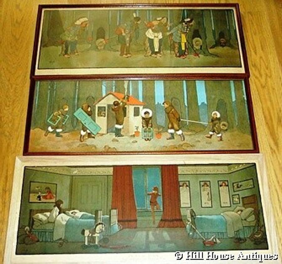 John Hassall Peter Pan prints