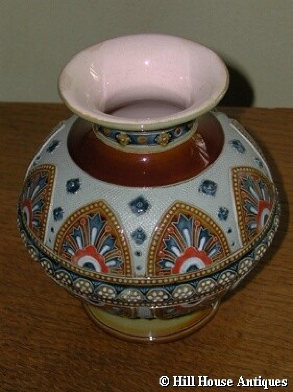 villeroy boch mettlach vase in other ceramics glass. Black Bedroom Furniture Sets. Home Design Ideas
