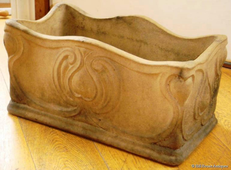 Doulton Pottery Art Nouveau planter