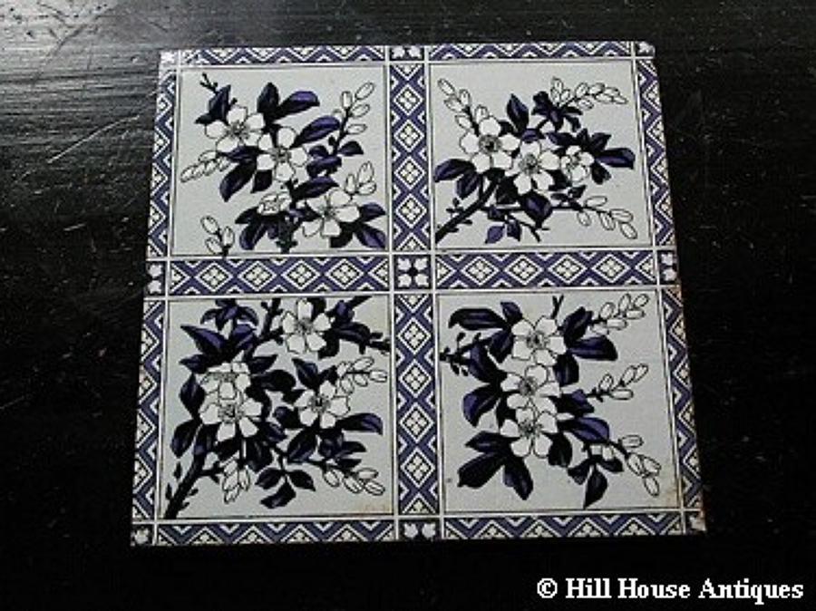 Large Mintons tile